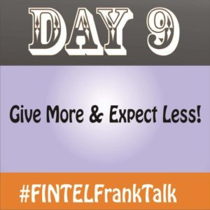 FINTEL Frank Talk – DAY 9 of 10