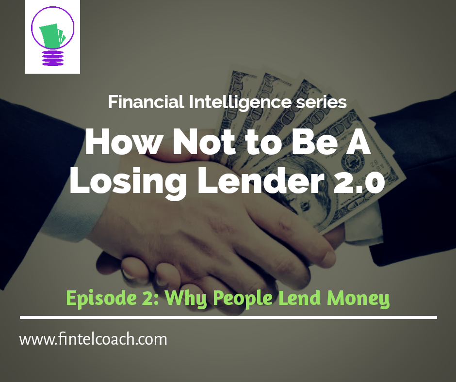 Losing lender by the FINTEL Coach
