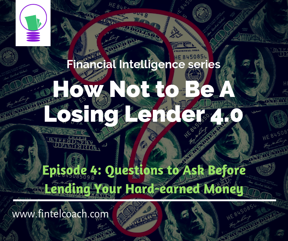 How Not To Be A Losing Lender 4.0