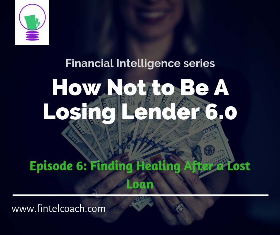 #fintelcoach, loan, lender