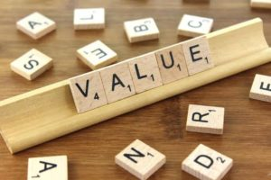 Value Scrabble